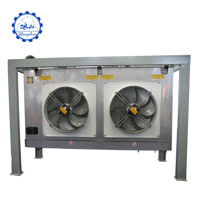 Bingshan certification ceiling mounted copper tube & fin air cooler evaporator and condenser