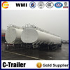 carbon steel 3 axle fuel oil tank semitrailer for sale in Malawi