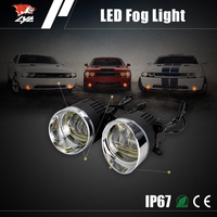 Factory price 12 volt 30W automobiles auto drl led fog light for toyota axio