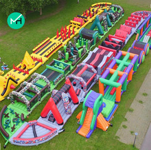 New brand 2017 giant Inflatable city playground