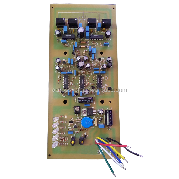PCB electronic components and PCB assembly