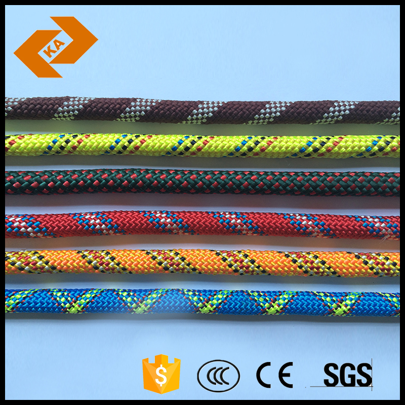 customized colorful braided nylon twine