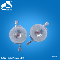 best selling products 3w 630nm red high power led chip