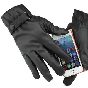 Cycle Gloves Leather Gloves Mans Smart Hand Gloves Manufacturers in China