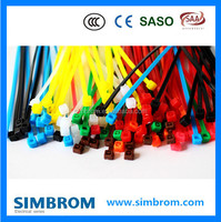 2.5mm width electric wire cable clips, nylon cable ties