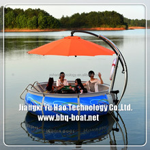 New Leisure Cheap Yacht, Park Water Electric Boats For kids