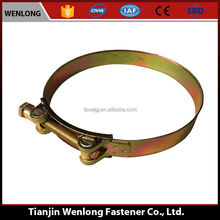 The Hose Clamp With Superior Quality Permanent Fasteners