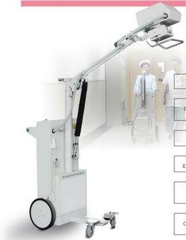 PX-100CLK high frequency x ray machine mobile