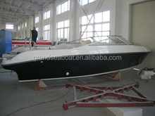 23ft / 6.8m Outboard Engine Fiberglass Material Cabin Cruiser Boat