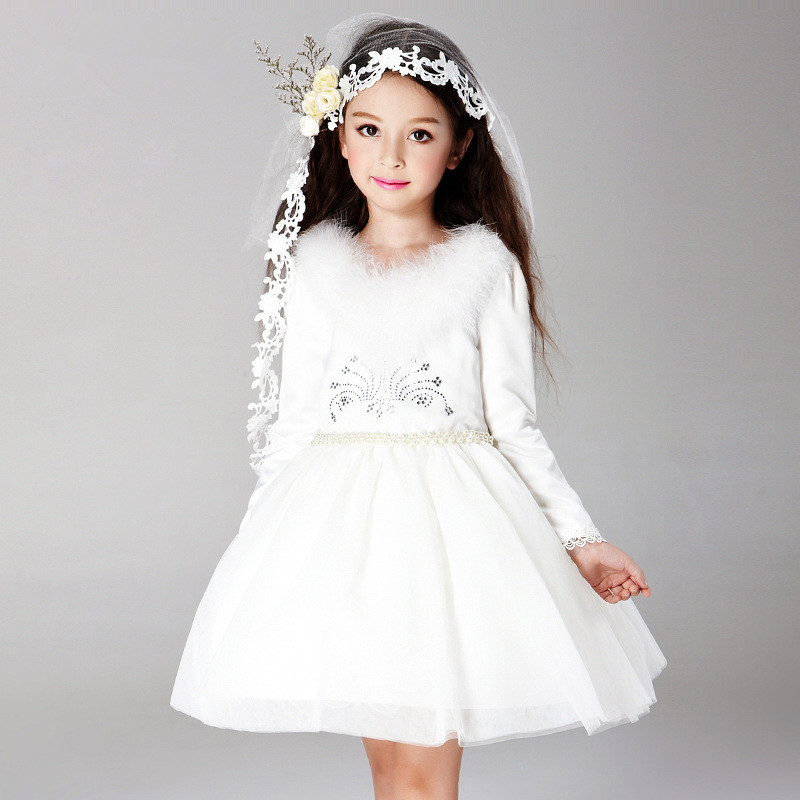 S31473W Hot selling 3 to 15 years old dance party dresses 2016 Winter