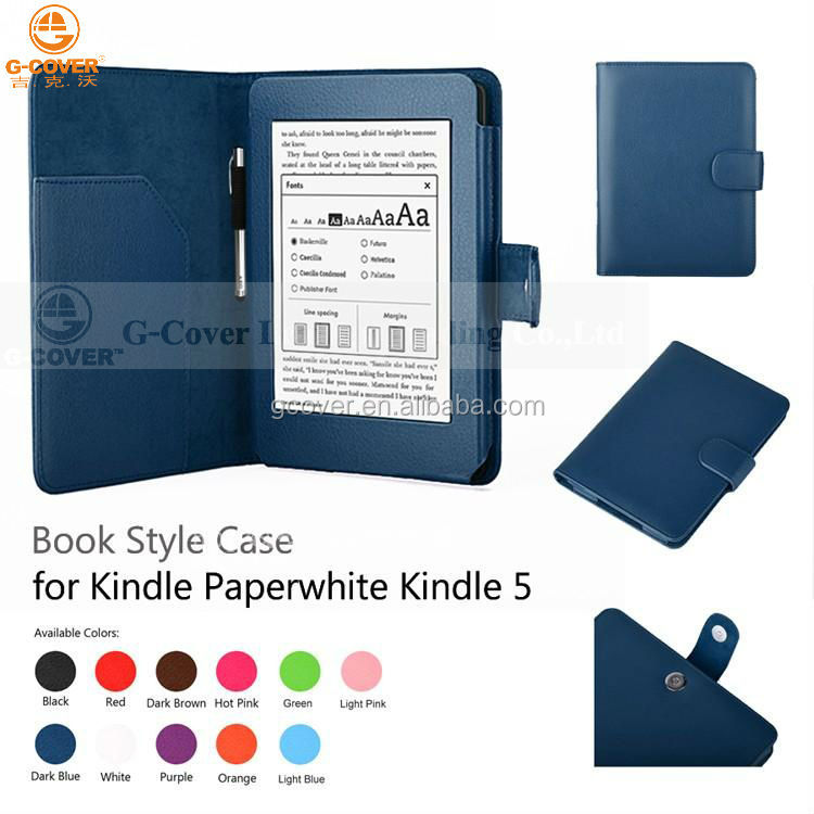 For kindle paper white book cover