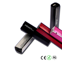 4 colors portable power bank cross 2600