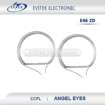 Evitek hot sell hid eyes angel motorcycle / china factory price color changing angel eyes/wifi control rgb angel eyes