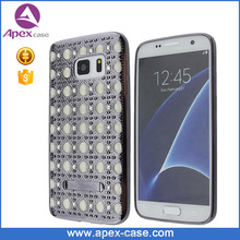 Glitter Rhinestone Electroplating TPU Case for Samsung Galaxy S7 Case
