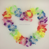 novelty LED glow in the dark flower leis headband for party decoration