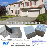 Prefabbricate houses low cost brick interior wall panels