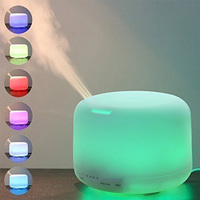 500ml essential oil set difuser, perfume diffuser, air purifier humidifier with lamp