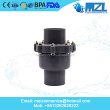 New product pvc ball check valve water flow control valve with high quality