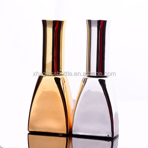 Guangzhou Factory Custom Made 13Ml Empty Glass Nail Polish Bottles With Cap Brush