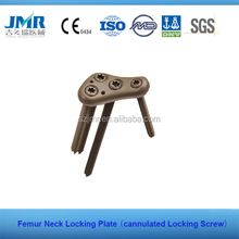 Femur Neck Locking Compression plate with cannulated Locking Screw lcp plate Orthopedic implant