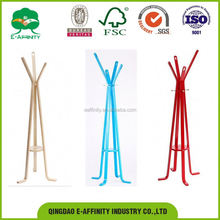 Most popular widely used bentwood coat clothes hanger rack