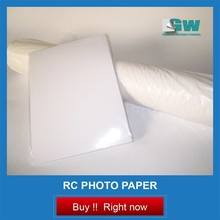 260gsm A4 glossy waterproof RC photo paper