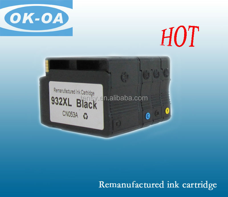 printer ink cartridge from shanghai for hp 932