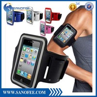 Outdoor sports running Neoprene armband for iphone 5 cases alibaba china factory