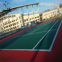 Economic cost easy install tennis court
