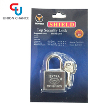 cheap price factory zina alloy iron sliver brass pad lock