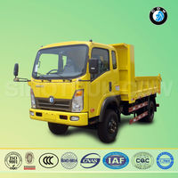 Sinotruk 4 ton truck dimension load of sand