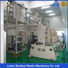 three layers PE blown stretch film making machine