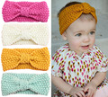 Winter children's hair accessories baby Bohemia knit hair band baby wool ear protection hair accessories