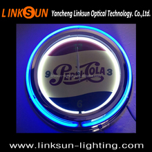 Neon Light Wall Clock