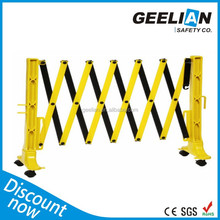 folding&foldable Iron Extensible Barricades/crowd control traffic barrier