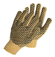 Sunnyhope wholesale pvc dotted cotton hand gloves