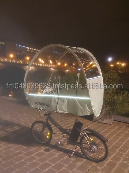 Bicycle umbrella for folding bike