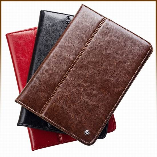 QIALINO brand product case for ipad smart cover ,leather case for ipad mini 2 mini 3