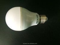 Led Bulb E27/B22 7w Aluminum And Plastic A60 2016 China Cheap led light