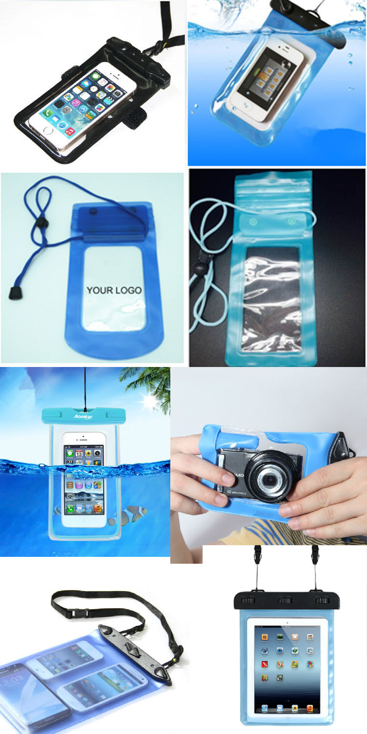 For Apple iPhones Compatible Brand and PVC Material mobile phone waterproof bag(SD-WB-043)