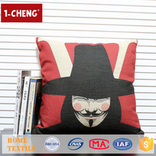 Hot Sale Movie Character Design Printing Cushion Home Decor Pillow Case,Home Textile Pillow Cover