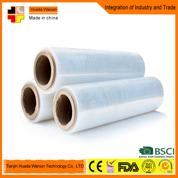 Lldpe transparent plastic folie rolls stretch film