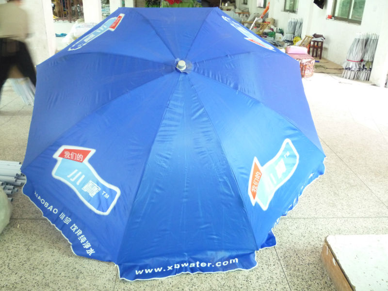 promotional printing beach umbrella