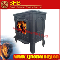 BHB european style burning own factory OEM/ODM service wood stove