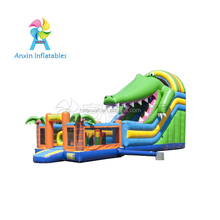 Kids Outdoor Inflatable Combo Bouncer For Sale