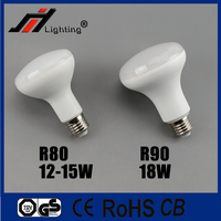 Hot sale plastic with alumium R80 10W 12W R90 15W LED BULB