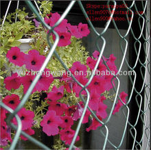 cheap light gauge chain link fence covering