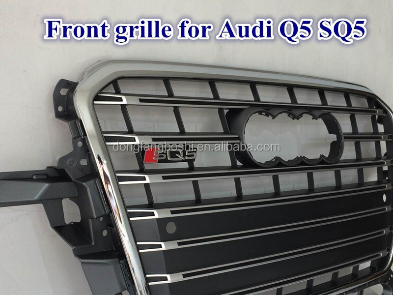 Auto body parts car body kits Front Grille for Audi Q5 SQ5 grill