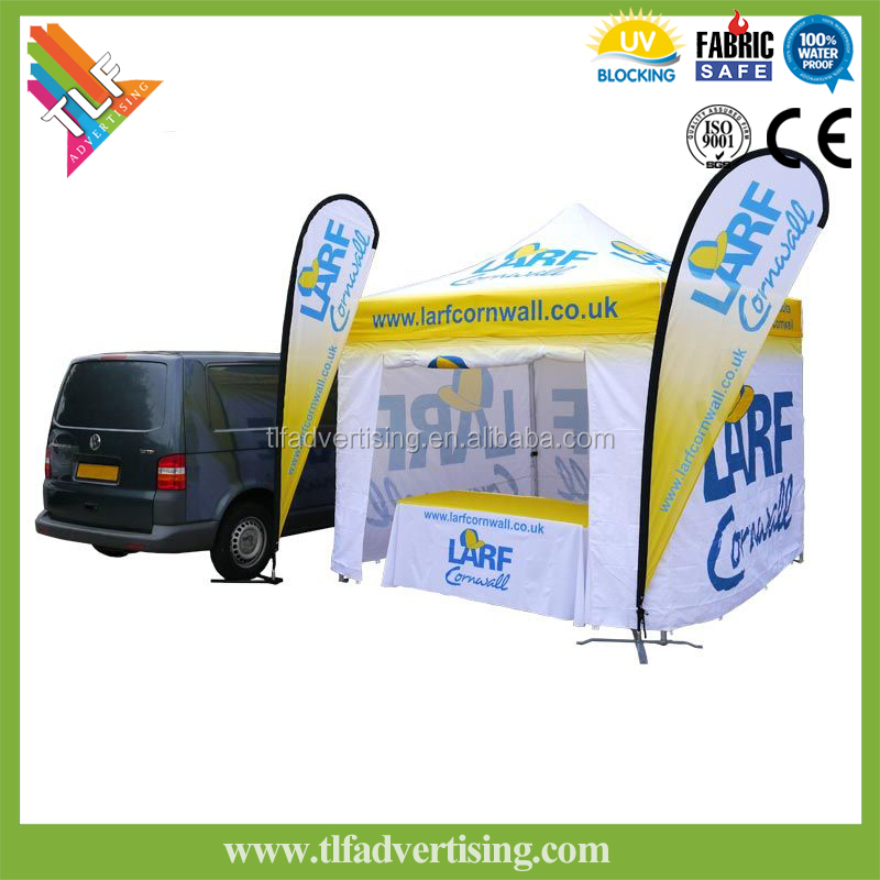 Aluminum foldable portable outdoor canopies and gazebos