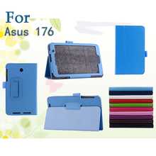 "For ASUS Transformer Memo Pad 7"" ME176C Tablet Folding Folio Skin Cover Case"